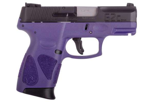 Taurus G2C 9mm Sub-Compact Pistol with Purple Frame and Black Slide