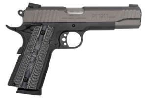 Taurus PT1911 45 ACP Full-Size Pistol with Grey Cerakote Slide and VZ Grips