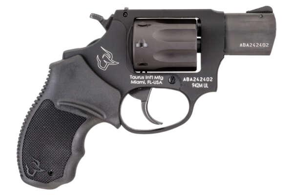 Taurus 942 Ultralite 22WMR Rimfire Revolver with 2 Inch Barrel and Matte Black Finish