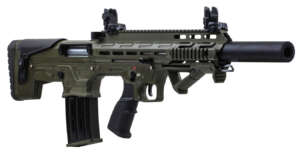 Panzer Arms BP-12 Bullpup 12 Gauge Semi-Automatic Shotgun with OD Green Cerakote Finish