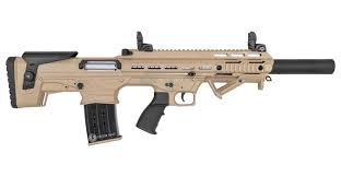 Panzer Arms BP-12 Bullpup 12 Gauge Semi-Automatic Shotgun with Desert Tan Cerakote Finish